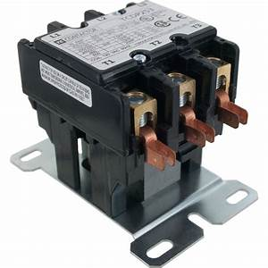 3 Pole Contactor 25 Amp 120vac Coil