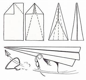 Easy Paper Airplane Instructions For Kids
