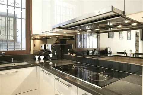 cr ence miroir pour cuisine credence cuisine effet miroir crédences cuisine