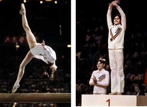 Comaneci 10 Floor by Comaneci S 10 Montreal Olympic 1976