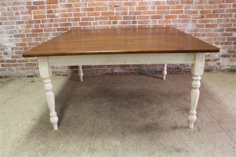classic square farm table ecustomfinishes