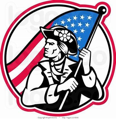 Revolutionary Revolution Clip War American Clipart Soldier