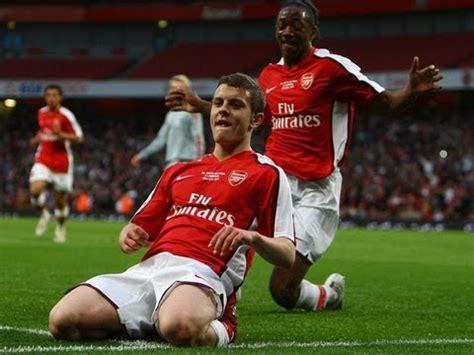 jack wilsheres debut goal  arsenal youtube