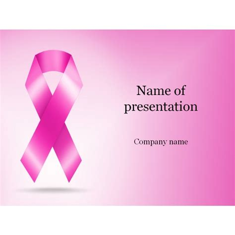 Breast Cancer Powerpoint Template Free by Cancer Powerpoint Templates Free Business Plan