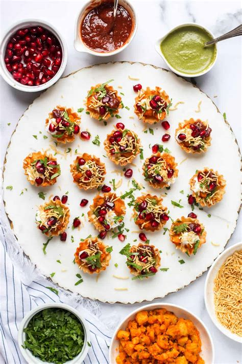 easy aloo chaat recipe  phyllo cups ministry  curry