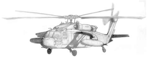 black hawk helicopter sketch  michael fidler artwantedcom