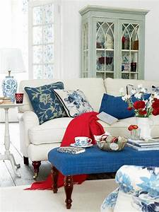 Red, White, And, Blue, Colors, Adding, Patriotic, Decoration, Vibe, To, Summer, Homes