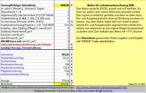 Netto Lohn Berechnen : zeiterfassung und brutto netto rechner download giga ~ Themetempest.com Abrechnung