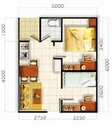 Gambar Rumah Minimalis Type 45 3d Small House Plans Under 1000 Sq Ft With Loft And One Desain Rumah Minimalis 2 Lantai Desain Rumah Lebar 7 Meter Denah Rumah9 X15 Submited Images