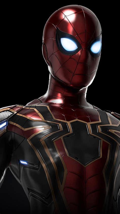 wallpaper iron spider avengers infinity war spider man