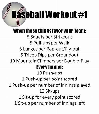 Baseball Watching Workout While Workouts Routines