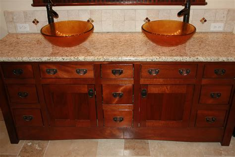 fashioned bathroom furniture 14 cool mission style bathroom vanity ideas direct divide