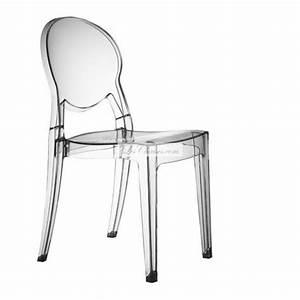 Chaise Plastique Transparente : chaise transparente design igloo par scab et chaises transparentes igloo ~ Melissatoandfro.com Idées de Décoration