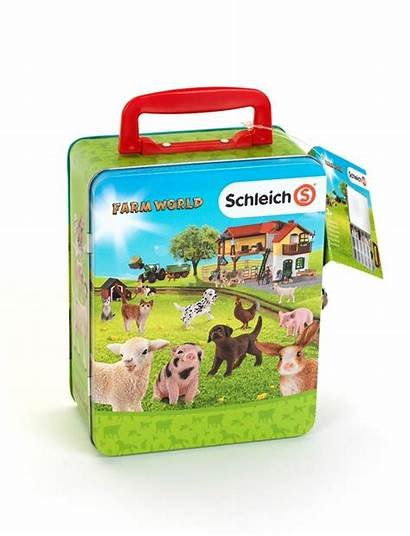 Schleich Farm Klein Toys Koffer Figurek Skrzynka