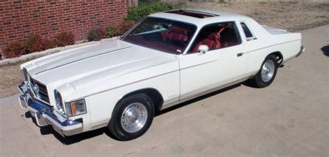 1979 Chrysler 300 For Sale by Hemmings Find Of The Day 1979 Chrysler 300 Hemmings Daily