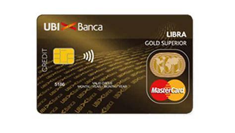 carta libra la carta  credito  ubi banca civici