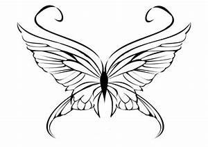 Gratis, Malvorlagen, Schmetterling