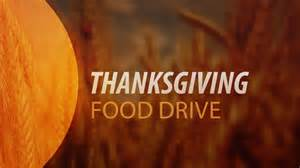 thanksgiving food drive new community church