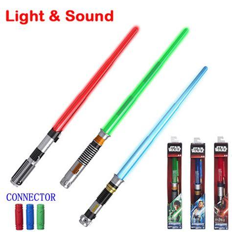 light saber toys wars foldable lightsaber with sound and light laser