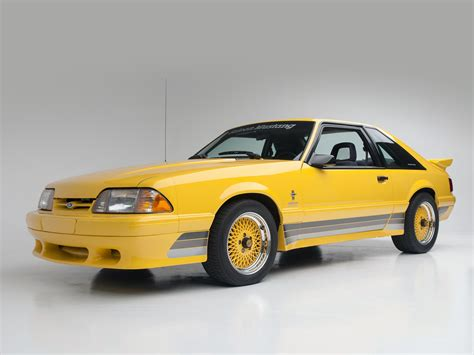 1988 Saleen Ford Mustang Muscle Wallpaper