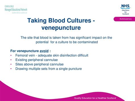 blood cultures powerpoint  id