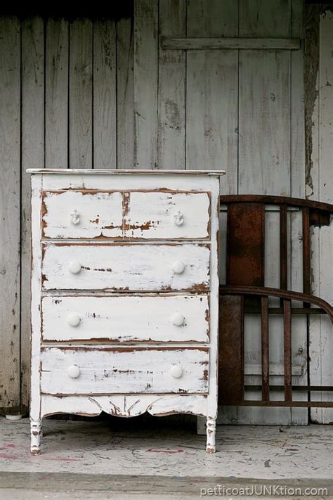 how to distress wood furniture shabby chic dare to distress shabby chic coastal furniture project petticoat junktion
