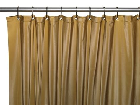 Shower Curtain Liners - 3 vinyl shower curtain liner w weighted magnets