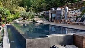 Piscine A Débordement : piscine a debordement haut de gamme avec l 39 esprit piscine ~ Farleysfitness.com Idées de Décoration