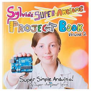 Sylvia's Super Awesome Book Projects - SparkFun Electronics