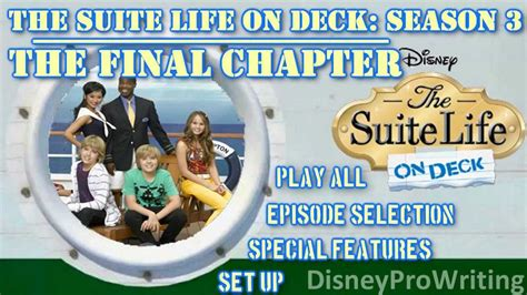 Suite On Deck Season 1 by The Suite On Deck Season 3 The Chapter Ii