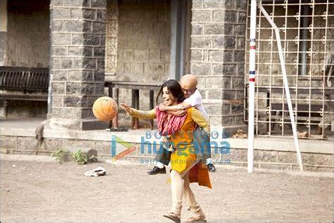 Vidya Balan Carries Year Old Actor Paa Trip