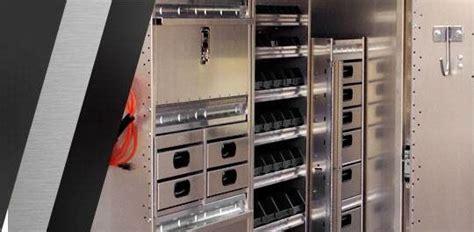 ranger design van shelving racks  accessories