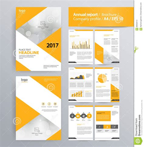 page layout  company profile annual report