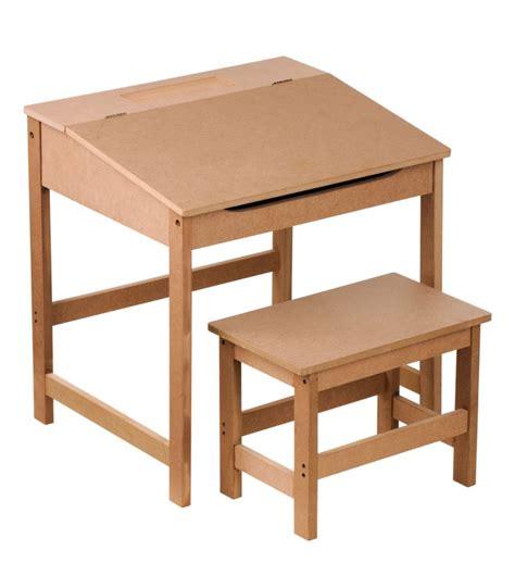 bureau pupitre bois bureau pupitre avec chaise écolier en bois nature wadiga com