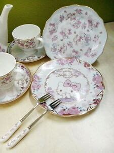 kitty quality  bone china high tea set dessert
