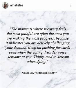 50 Best Quotes ... Eat Disorder Quotes