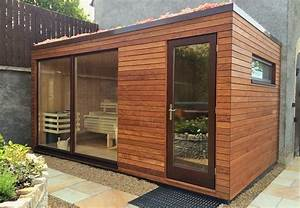 sauna exterieur avec douche idees decoration interieure With sauna exterieur avec douche
