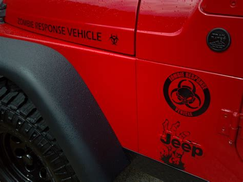 zombie jeep decals supdec jeep
