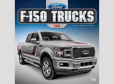 Ford F150 Trucks 2019 12 x 12 Inch Monthly Square Wall