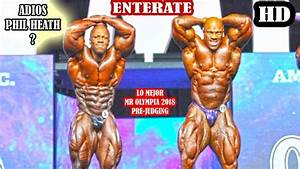 LO MEJOR del PRE JUDGING OPEN MENS BODYBUILDING - MR ...