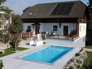 Kleiner Pool Für Terrasse : pool aus systemsteinen styroporsteinen selbst bauen ~ Orissabook.com Haus und Dekorationen