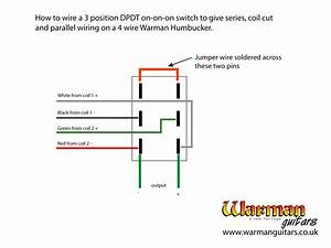 Bass Humbucker Series   Parallel Wiring Diagram Push Pull