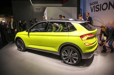 Skoda Vision X Concept Previews 2019 Crossover Autocar