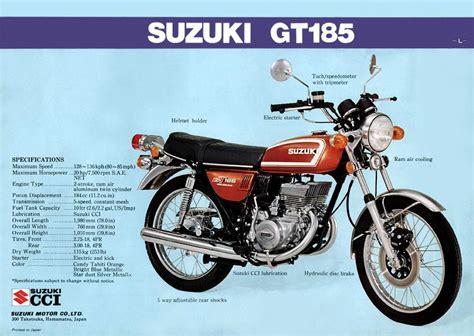 Suzuki Gt185 by Suzuki Gt185 Brochure Scans