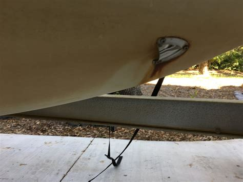 anchor locker  hull drain question scout  hull