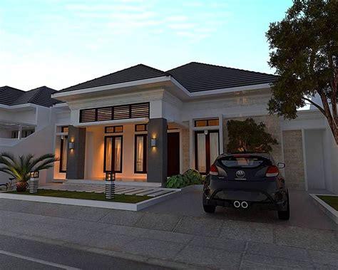 rumah minimalis sederhana teras bata casa estilo