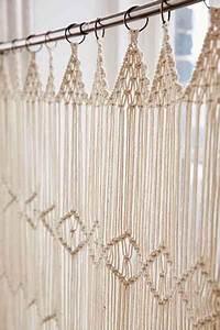 Gardinen Häkeln Modern : 95 h kel und schrittvorhangmodelle vorhang vorh nge makramee vorhang makramee knoten ~ Watch28wear.com Haus und Dekorationen