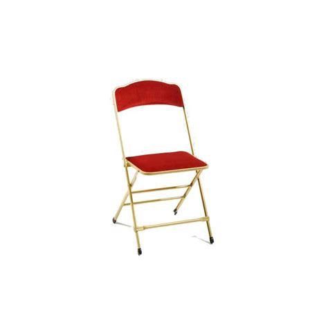 chaises capitonnées chaises pliantes capitonnées
