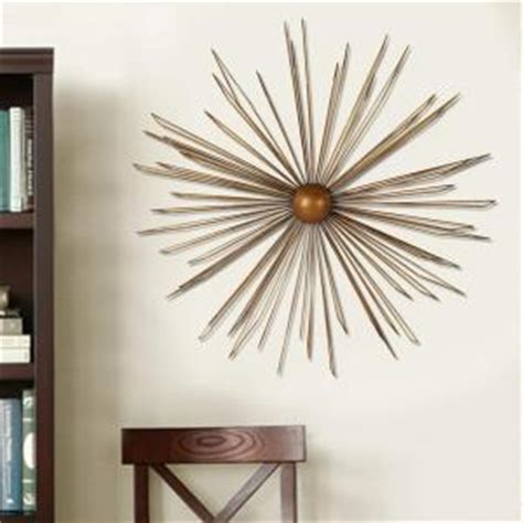 metal starburst wall decor 36 in x 36 in modern starburst metal wall decor dn0012 7474