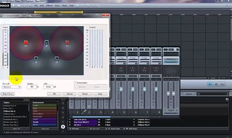 This is a vigorous and rigorous process which requires a bit of skill and creativity to produce a perfect result. How to make surround 5.1 sound in Magix Music Maker - YouTube